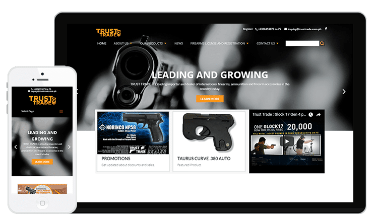 Trust Trade Web Design