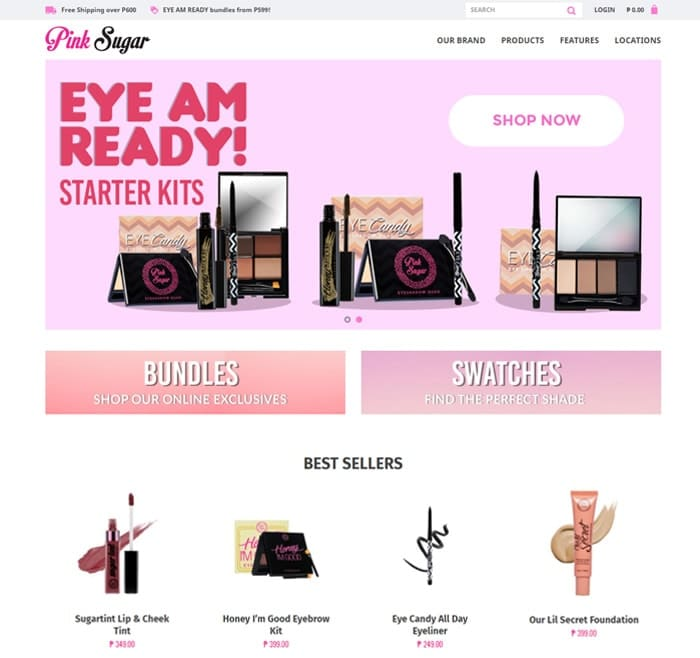 Pink Sugar Site Preview