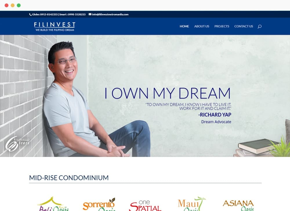 Filinvest Metro Manila Site Preview